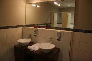 Josko Fitness WC-Vorraum