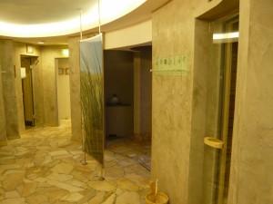 Upstalsboom Strandhotel Gerken Saunavorraum