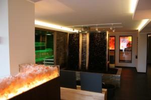 Hotel Vulcano Lindenhof Gradierwerk und Fussbecken