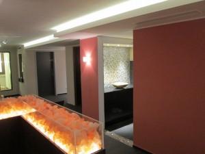Hotel Vulcano Lindenhof Salzstein-Raumteiler