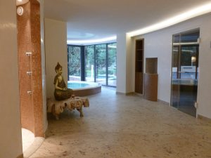 Privatvilla in Mannheim Wellnessbereich