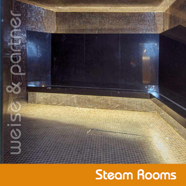 Brochure Steam Rooms