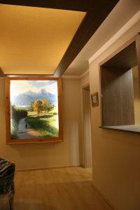 Vorher: Berghotel Rehlegg Ramsau Empfang