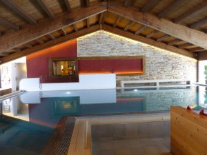 Vorher: Berghotel Rehlegg Ramsau Schwimmbad