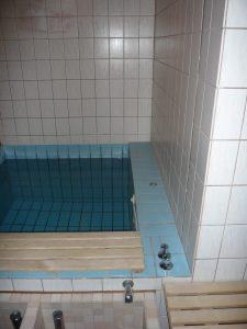 Vorher: Hotel Heide-Kröpke Saunabereich 2