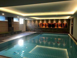 Hotel im Tannengrund Schwimmbadbereich